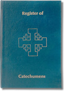 Church Register of Catechumens Imitation Leather Jerusalem Cross MU2