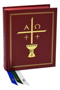 Excerpts from the roman missal book by ICEL also known as the book of the chair with 792 pages 9781947070196