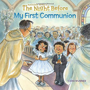 The Night Before My First Communion Paperback Book by Natasha Wing with 32 pages 9781524786199