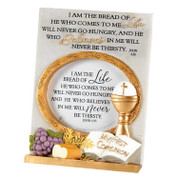 """I Am The Bread of Life Photo Frame My First Communion 7""""  DIPFR163"""
