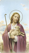 Good Shepherd Holy Card | Blank Back | Paper | 100 Count |  10108