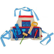 Joseph the Carpenter's Helper Tool Set with Apron Ages 3+ WBIW201230