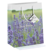 "Medium Gift Bag | Faithful Friend is a Treasure | Paper | 8"" x 9-3/4"" x 4"" | GB4044"