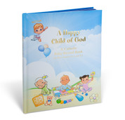 A Happy Child of God Catholic Baby Record Book with Illustrations by Rev. Daniel A. Lord S.J. in Hardcover HI2456