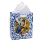 Gift Bag with Our Lady of Perpetual Help Size Medium Style HIGB208M