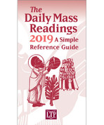 Daily Mass Readings | Pamphlet | Simple Reference Guide for 2019 | 9781616713881