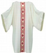 Dalmatic by Harbro Gold Metallic Cross