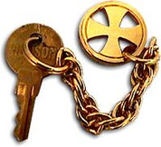 Tabernacle Key Chain