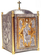 "Style 306 - Tabernacle - Bronze Plated - Size 24"" x 14-1/2"""