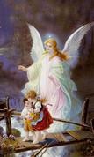 "Guardian Angel 8"" X 10"""