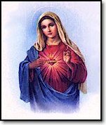 "Poster |  Immaculate Heart of Mary | 19"" x 27"""