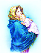 """Madonna of the Streets - Size 8"""" x 10"""""""