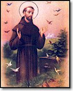 "Poster, 19"" x 27"" Saint Francis"