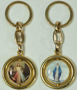Keychain | Divine Mercy | Round