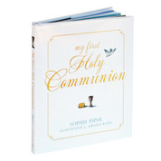 My First Holy Communion book by Sophie Piper inspirational collection of pieces measures 5 and 3 quarters by 7 inches 9781557256966