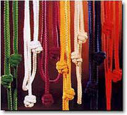 "Cord Knot Cincture 81"" length in 1/2"" cord. Available in 8 colors"