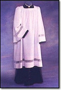 Liturgical Surplice with Square Yoke Style 885