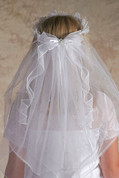 First Communion Veil | Crown Style | 749