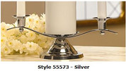 Unity Candleholder in Silver Style 55573