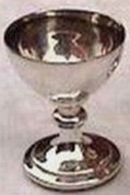 Mini Chalice From Pastoral Set All Silver Plated