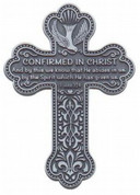 Confirmation Cross - Pewter