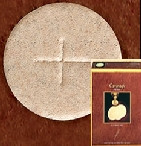"Altar Bread Host Wheat - Size 1-3/8"" 1000 Host - CA138WWB"