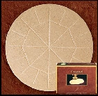 "Altar Bread Concelebration Wheat - Size 5-3/4"" - CA5"