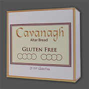 "Gluten Free Altar Bread - Size 1-3/8"" 25 Host - CAGLUTEN"