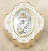 From Italy - First Communion Rosary Box - LALSC052