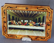 From Italy - Last Supper Icon Plaque - LAL344COM