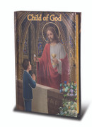 Child of God Cathedral edition missal for boy padded cover with gold accents measures 4 by 5 and 1 half inches HI2471