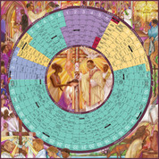 2018 Year of Grace Liturgical Calendar Paper Poster LTYG18LP