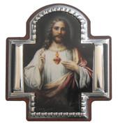 Sacred Heart of Jesus Cross Icon