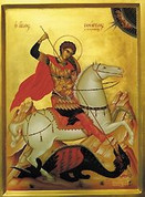 St George Icon available in three sizes