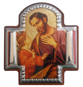 St Joseph and Child Cross Icon