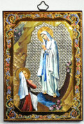 Our Lady of Lourdes - 6""