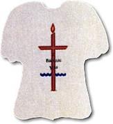Baptismal Bib Polyester Felt Style B5