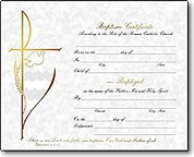 Baptismal Certificate Forms