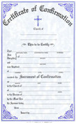 Confirmation Forms Certificate - Style #175