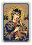 Mass Card Our Lady of Perpetual Help Style BCMB203