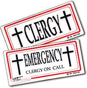 Clergy Emergency Sign