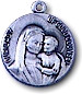 Our Lady of Good Council Sterling Silver