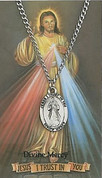 Medal   Divine Mercy   Prayer Card