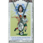 Boy's Medal with Card - Soccer