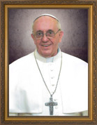 Pope Francis Formal Portrait available in 3 sizes.
