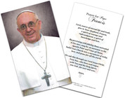 Pope Francis Holy Cards