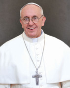 Pope Francis Formal Portrait Print Only Available in 3 sizes.