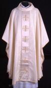 Gothic Chasuble | Jerusalem Cross | Polish | 154