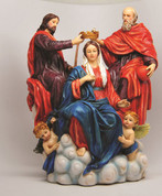 Coronation of the Virgin Statue Style 9347