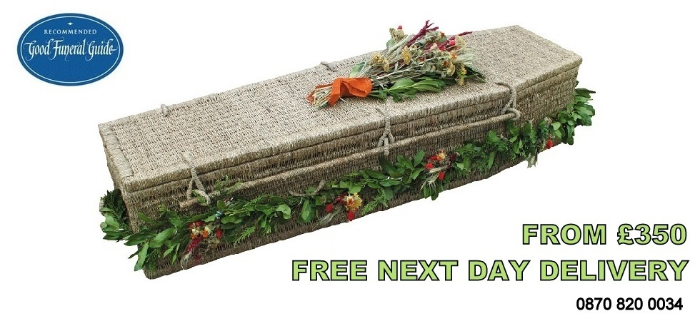 Eco Wicker Coffins - Good Funeral Guide Reommended